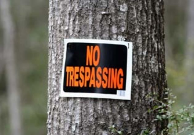 Trespassing — What you need to know