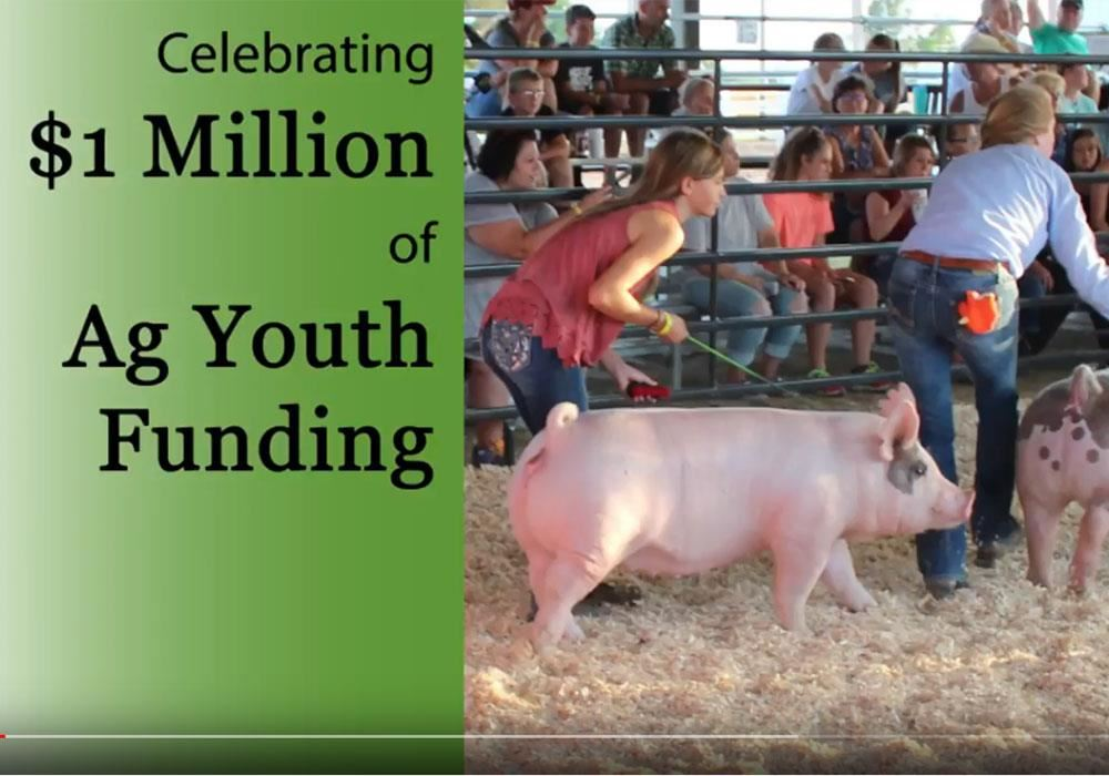 $1 Million Milestone Ag Youth Funding