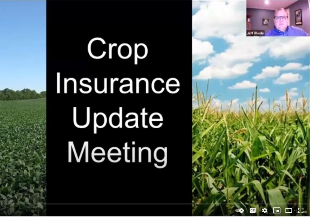 crop insurance update meeting 2021