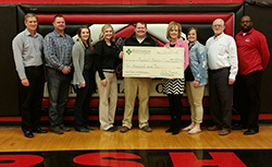 Foundation donation to Marshall Booster Club
