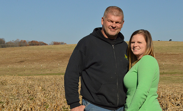 Aaron and Amanda Hager, Frohna